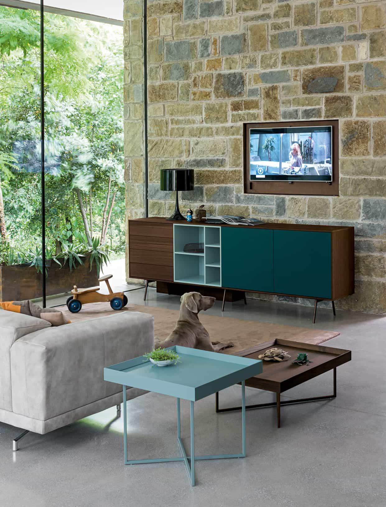 Complementi d 39 arredo per soggiorno progettazione e realizzazione - Complementi d arredo soggiorno ...