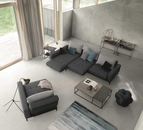 Progettazione soggiorni - Salotto Rolf Benz Tira