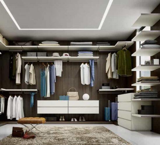 Progettazione camere armadio e armadi su misura - Boiserie 2