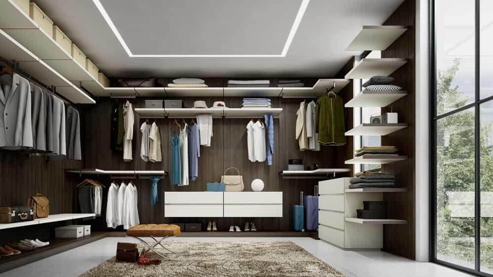 Cabine armadio Padova: camere armadio, progettazione su Misura