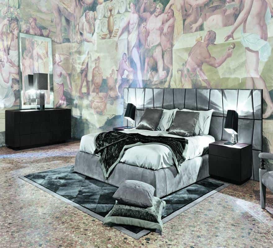 Progettazione camere da letto - Letti Smania