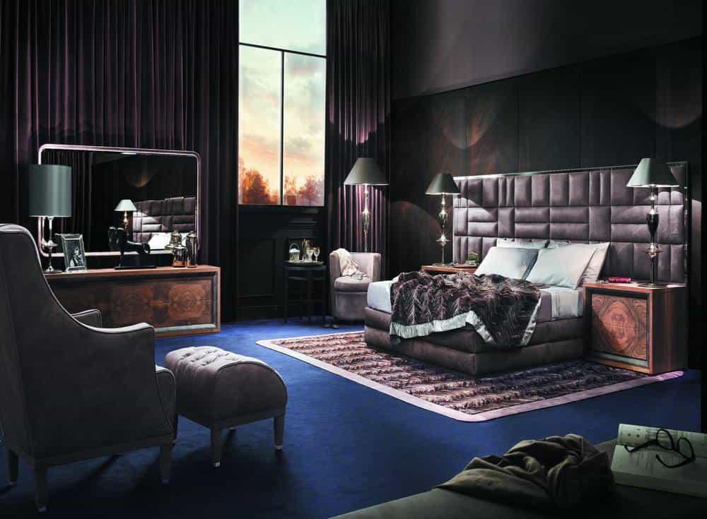 Letti smania di lusso per camere da letto eleganti - Camere da letto eleganti ...