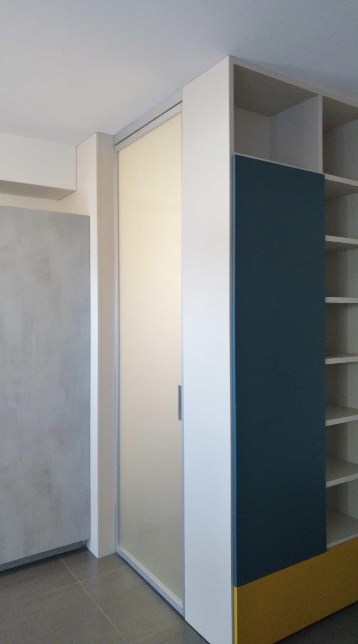 Un Ingresso, Uno Spazio Da Utilizzare Per Creare Una Stanza Interna,  Guardaroba, Dispensau2026un Progetto Su Misura